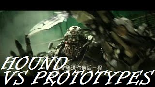Hound vs Prototypes: Transformers Age Of Extinction