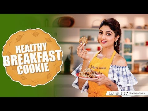 Healthy Breakfast Cookie | Shilpa Shetty Kundra | Healthy Recipes | The Art Of Loving Food