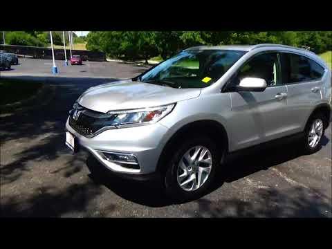 Certified Used 2016 Honda CR-V EX-L AWD for sale at Honda Cars of Bellevue...an Omaha Honda Dealer!