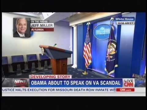 Congressman Jeff Miller Interview - CNN's The Lead
