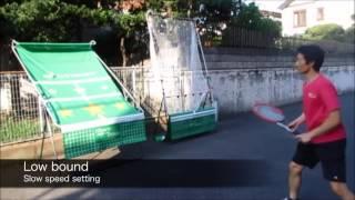 Tennis Practice Machine (Miracle Tennis is Tennis Practice Wall)