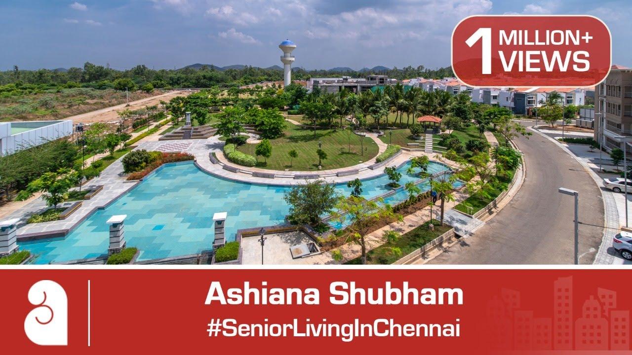 #SeniorLivingInChennai | Ashiana Shubham | Ready to Move 1/2/3 BHK  Apartments