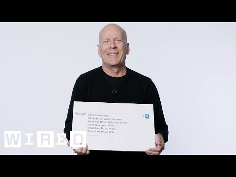 Bruce Willis Answers the Web's Most Searched Questions | WIR