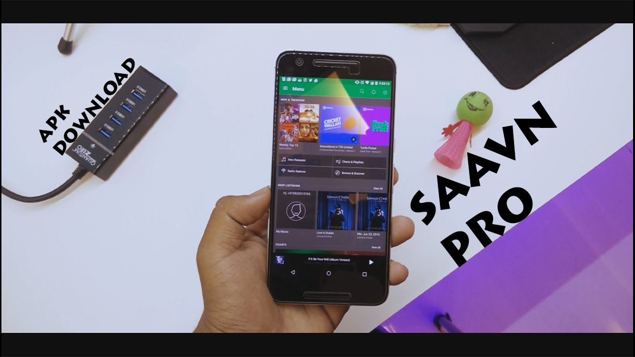 Saavn Pro APK Download [OFFLINE 100% WORKING]  !