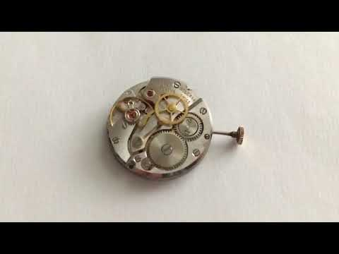 Slow motion video of Rolex Movement caliber 1225