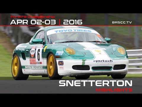 2016 Toyo Tires BRSCC Porsche Championship - Rounds 1, 2 & 3 - Snetterton 300
