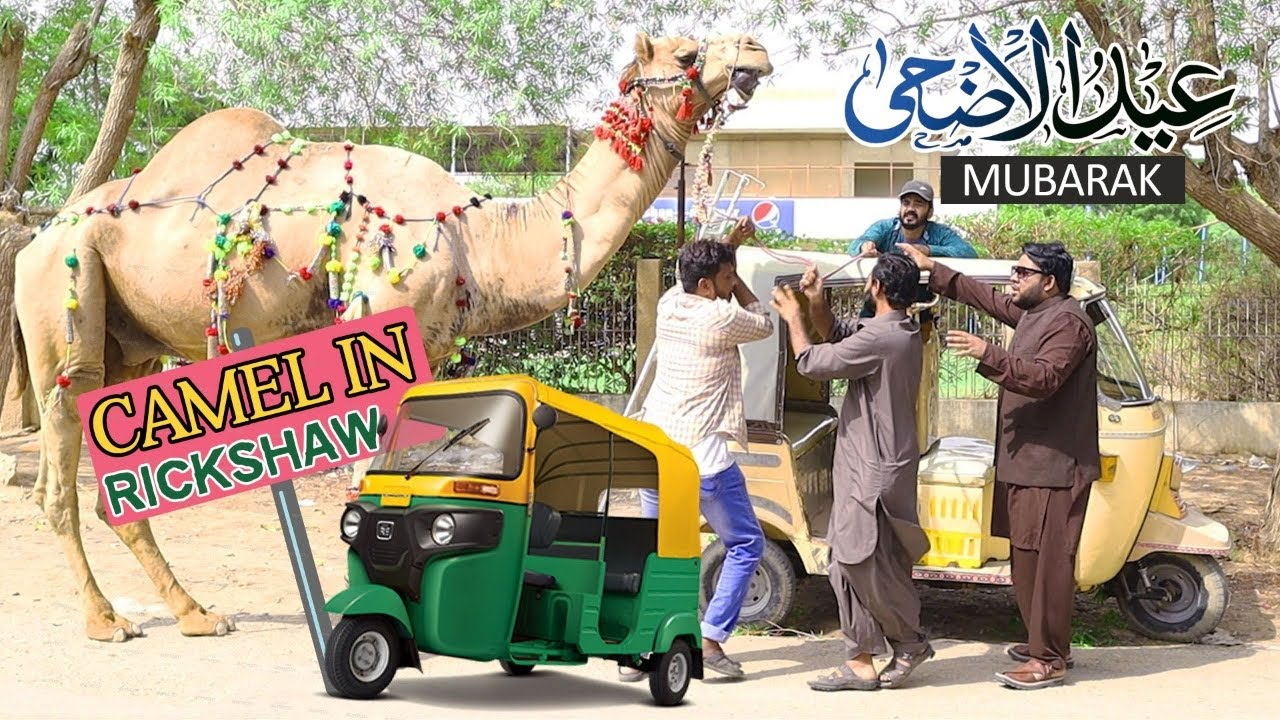 | Camel In Rickshaw Prank | By Nadir Ali & Team In | P 4 Pakao | 2020