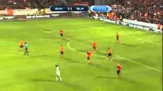 Amazing Goal Sebastian Dudek Dundee United vs Śląsk Wrocław (3-2) European League 21/07/2011