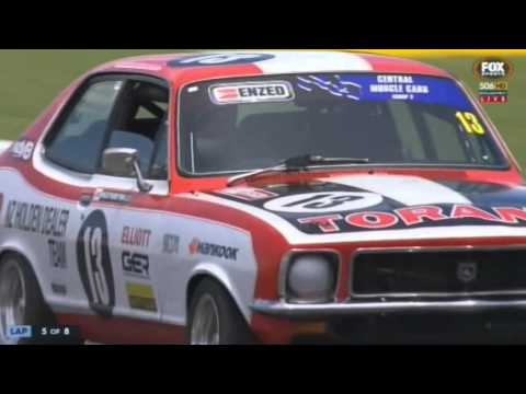 Nz Central Muscle Cars Pukekohe Race Youtube