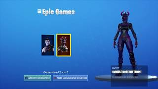Dark Reflections Pack / Dark Machinations Pack | Fortnite Battle Royale