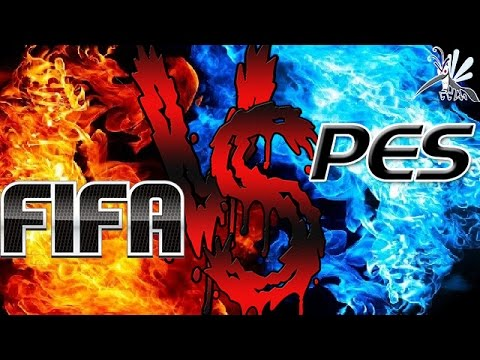 Fifa Vs Pes Batalha De Rimas Youtube