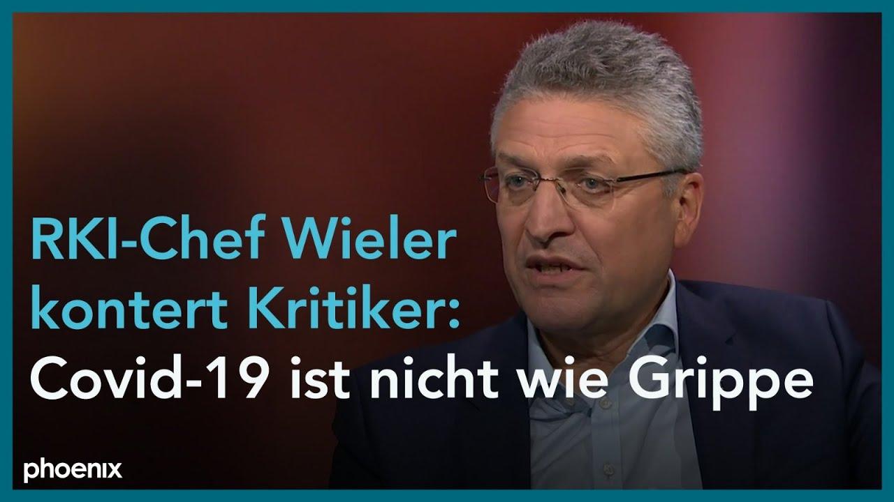 Phoenix Personlich Prof Lothar Wieler Bei Alfred Schier Youtube