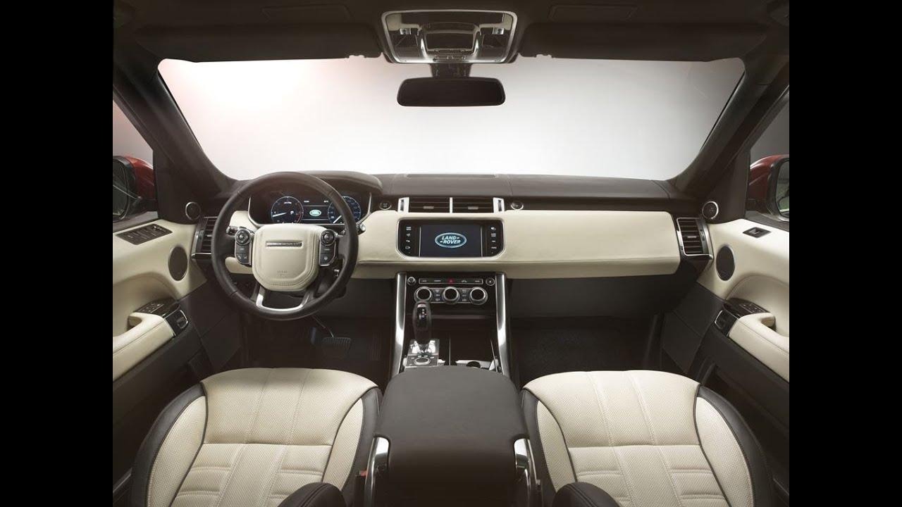 2014 Land Rover Range Rover Sport - official INTERIOR - YouTube