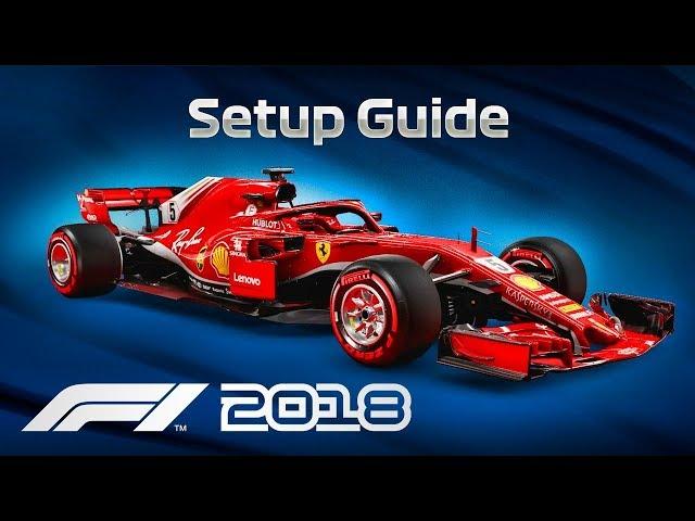 F1 2018 Car Setup Guide All Tracks Youtube
