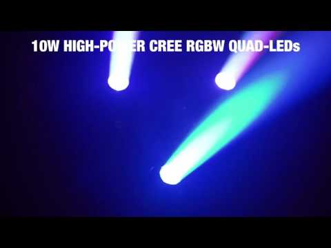 cameo hydrabeam 300 rgbw lighting set with 3 ultra fast 10 w cree rgbw quad led moving heads cameo hydrabeam 100 rgbw lighting set