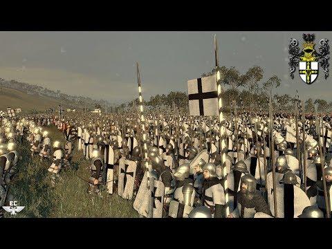 ⚔ Тевтонский Орден vs Польское Княжество 🛡 Эпическая Битва! 4K Video || Medieval Kingdoms Mod