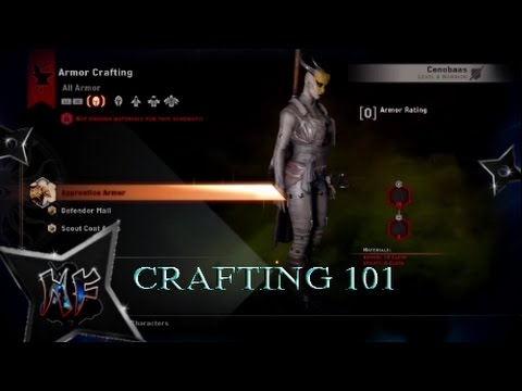 Crafting Schematics Dragon Age Inquisition