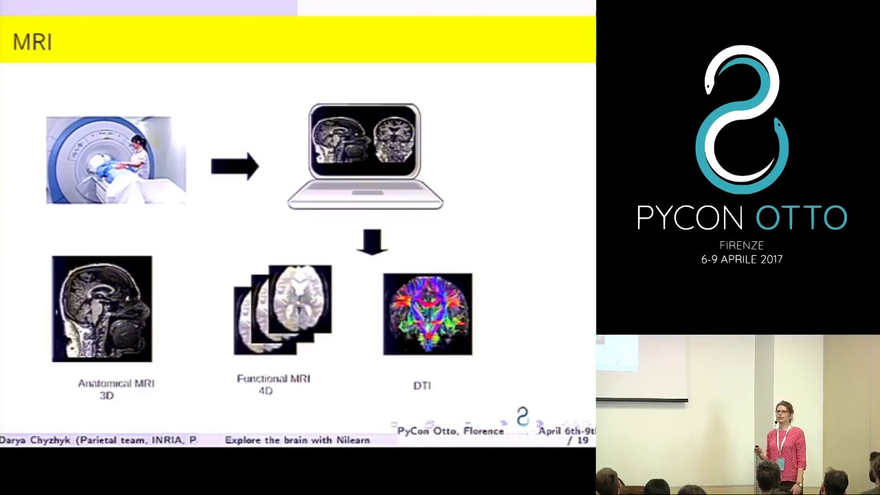 PyVideo org · Explore the brain with Nilearn