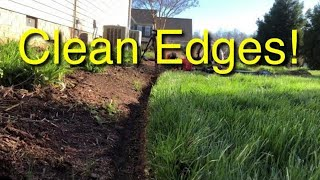 Lawn Edging - How To Have Clean Edges In A Lawn