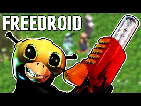 Freedroid RPG Gameplay: Open Source Linux Diablo Clone
