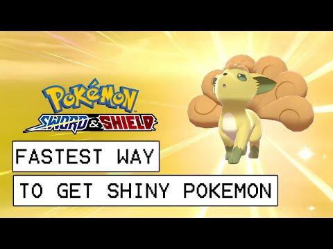 Pokemon Sword & Shield Fastest Way To Get Shiny Pokemon (Masuda Method Explained)