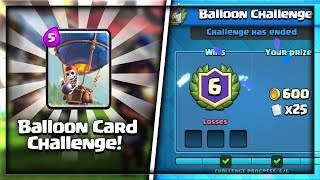 "BEST DECK FOR ""BALLOON CHALLENGE"" IN CLASH ROYALE 