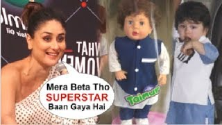 Kareena Kapoor's BEST Reaction On Taimur Ali Khan's Doll Made By FANS