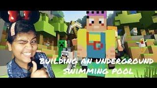 underground swimming pool EPIC!!