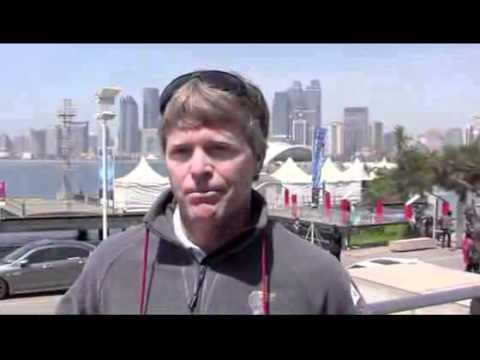 Extreme Sailing Series / Morgan Larson skipper of Oman Air Exposed