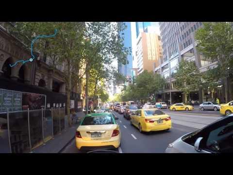 Australia, Victoria, Melbourne, Bourke Street - Collins Street, 03/2017 4pm