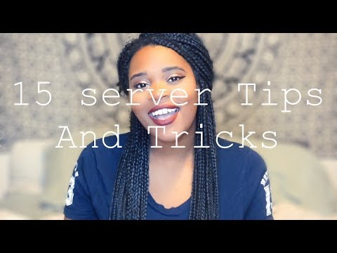 15 Server Tips & Tricks | How To Make The Most Money!