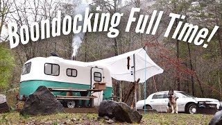 Boondocking Essentials   Full Time (FREE) Camping Off Grid!