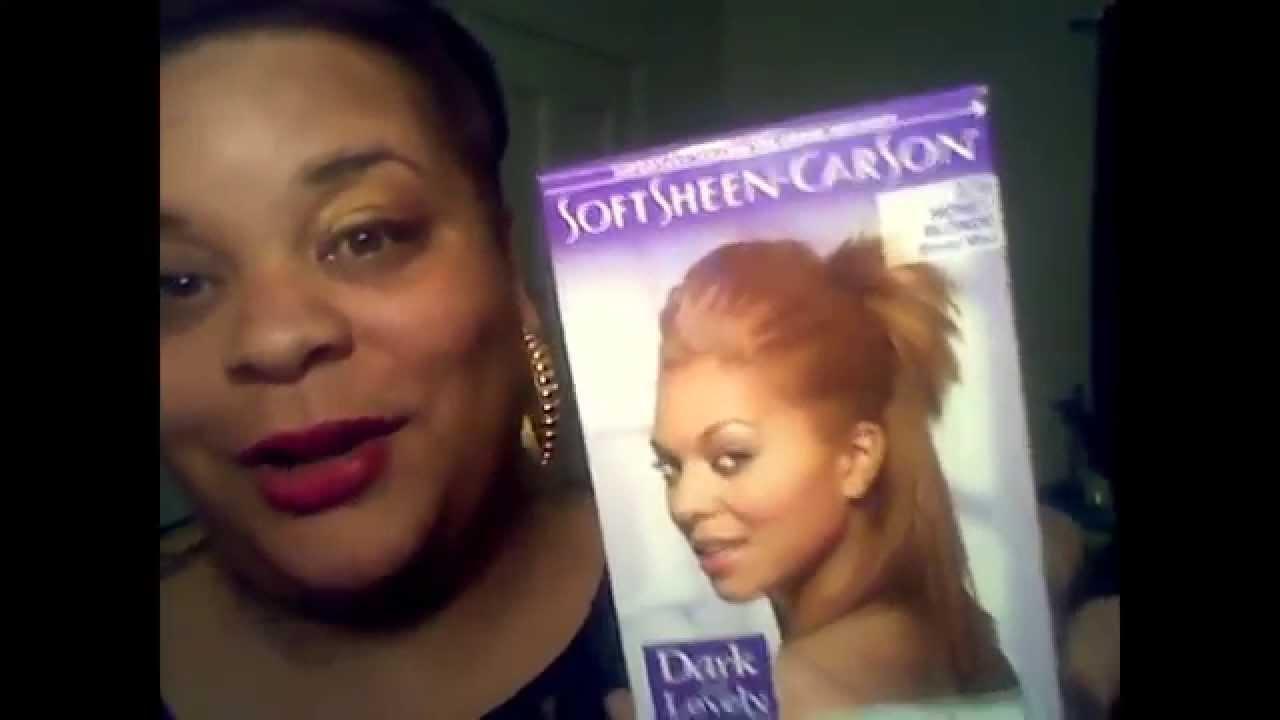 Product Review Dark N Lovely Honey Blonde Dye Youtube