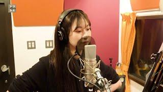 アプカミ ボーカルレコーディング映像より.