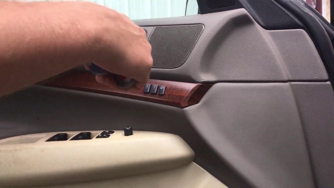 How To Remove Infiniti G35x G35 Sedan Front Door Panel 2007 2008 Youtube