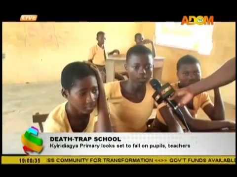 Death-Trap School; Kyiridigya Primary looks set to fall on pupils, teachers (5-12-18)