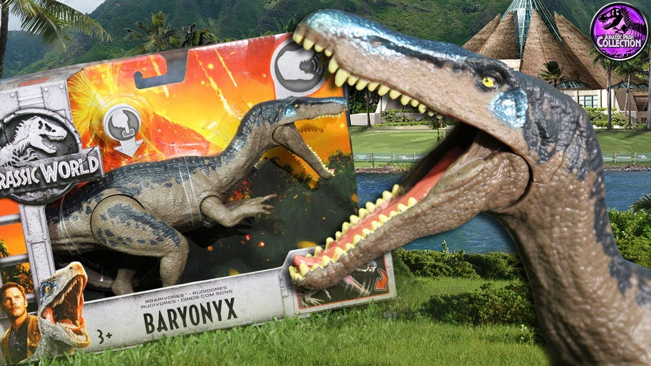 Giocattoli Jurassic World 2018 Baryonyx Jurassic World Fallen Kingdom Mattel Toys Review
