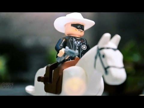 Lego stop motion - The Lone Ranger VS Pirates of the Caribbean 樂高獨行俠 VS 神鬼奇航
