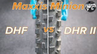 Maxxis Minion DHF vs DHR II (One Of Them Is Clearly Better)