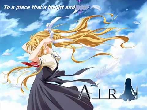 If Dreams Came True - AIR anime [Lyrics]