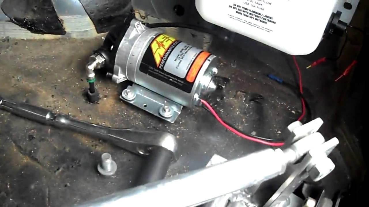 HB Turbo Civic Aem Water Meth Kit Install YouTube - Aem water methanol kit wiring diagram