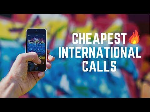 Cheapest way to make International Calls