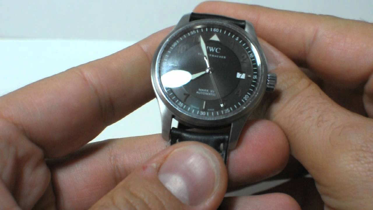 Watch marks on wrist - Iwc Pilot Mark Xv Watch