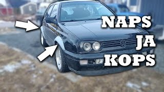 Levikkeet part 2 - Golf mk3 VR6 Ep29
