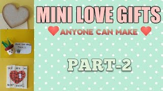 Mini Love Gifts PART-2 | Love gifts | miniature| Craft | step by step