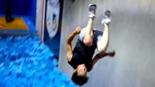 Learning Free Running - Ninja Warrior Training - Day 2