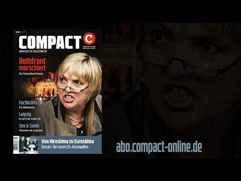 COMPACT 9/2015: Die Deutschland-Hasser – Rothfront marschiert