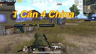 PUBG Mobile | One Man Squad Asian || 1 Mình Cân 4 Team China √