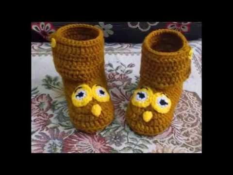 crochet baby shoes รองเท้าไหมพรม,รองเท้าเด็กถักไหมพรม,ขายส่งราคาถูก.. ชุด7