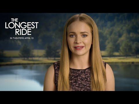 The Longest Ride | Britt Robertson Global Premiere Reminder [HD] | 20th Century FOX